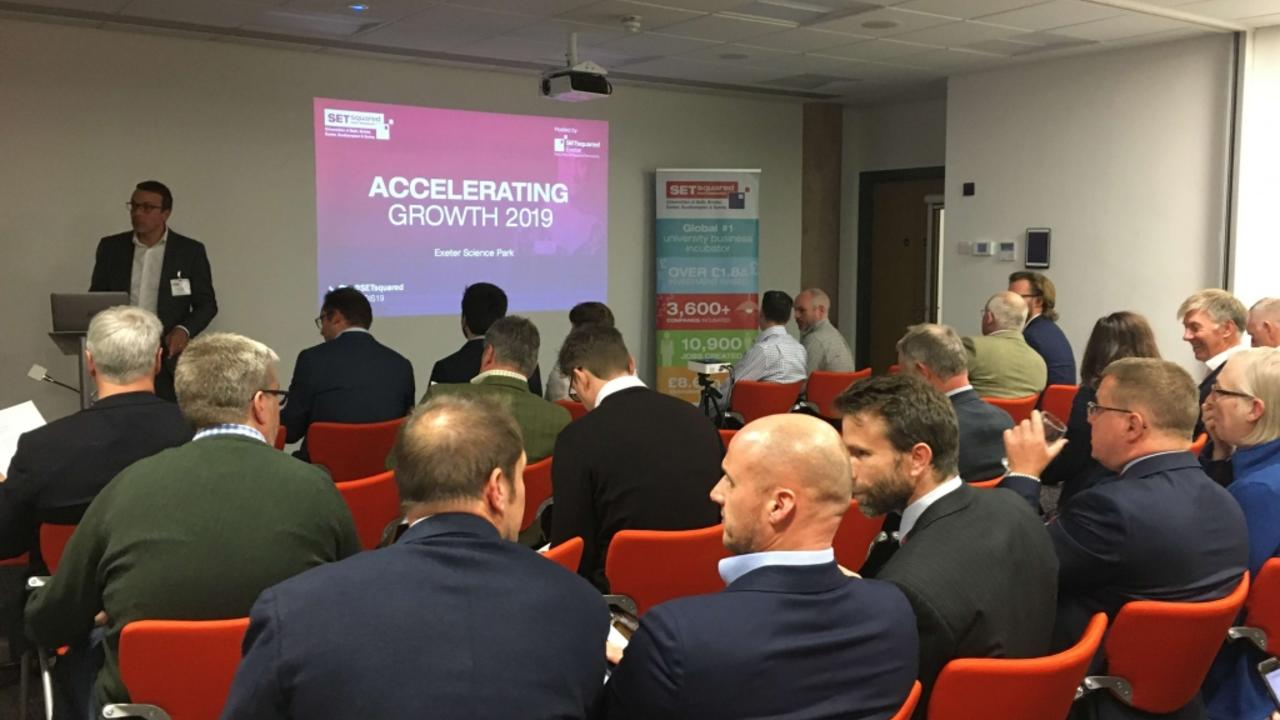 Pitching event showcases region's most promising startups