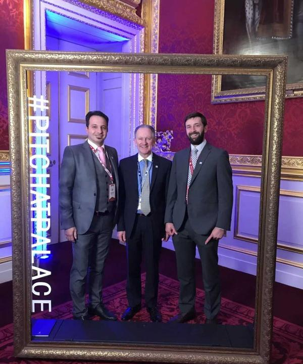 SETsquared Exeter entrepreneurs pitch at final of prestigious royal competition