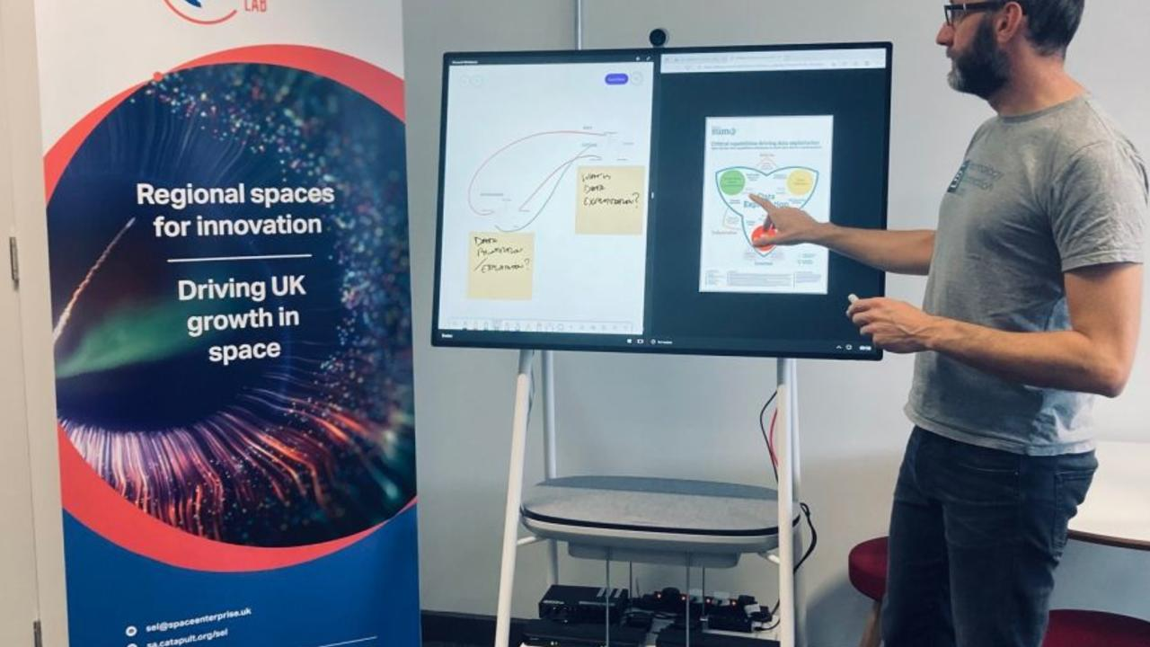 Space Enterprise Labs opened across the UK providing physical spaces for national collaboration