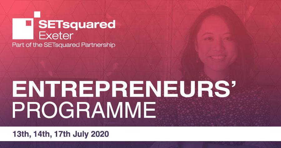 SETsquared Exeter Entrepreneurs' Programme